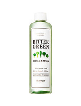 Bitter Green Toner & Mask by Skinfood