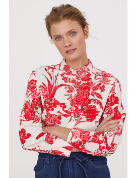 Bluse Aus Kreppstoff by H&M