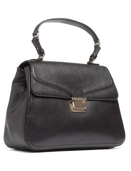 Jc4146 0000 Black Satchel/Shoulder Bag by Moschino