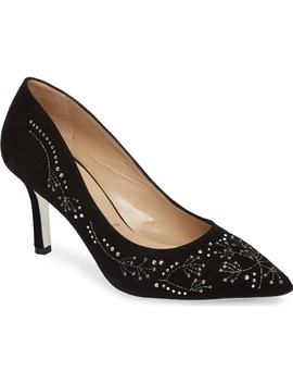 Carla Crystal Embellished Pump by Ron White