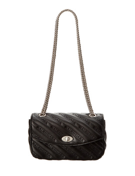 Balenciaga Lock Small Leather Shoulder Bag by Balenciaga