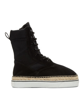 Black Myles Boots by Alexander Wang