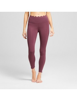 Women's Premium Lightweight High Rise Scalloped Leggings   Joy Lab™ by Joy Lab™