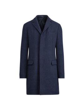 Morgan Merino Silk Topcoat by Ralph Lauren