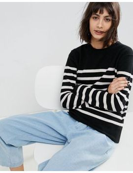 Asos White 100 Percents Cashmere Crew Neck Jumper by Asos White