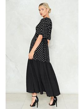 Dot To Trot Maxi Dress by Nasty Gal