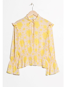 Bell Sleeve Blouse by & Other Stories
