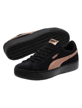 Puma Women's Vikky Platform Rg Suede Sneaker by Puma