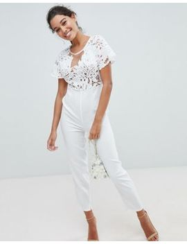 Love Triangle Lace Jumpsuit by Love Triangle