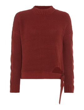 D Ring Cropped Jumper by Label Lab