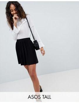 Asos Design Tall Mini Skater Skirt by Asos Design