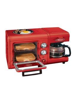 Nostalgia Electrics Bset100 Cr 3 In 1 Breakfast Station by Bunn