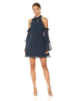 Keepsake The Label Women's Twilight Dreams Bow Cold Shoulder Mini Dress by Keepsake The Label