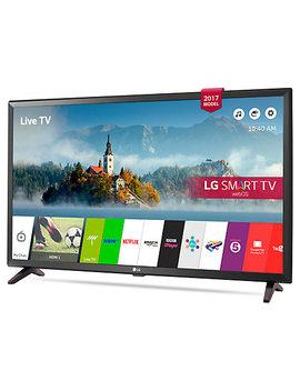"Lg 32 Lj610 V Led Full Hd 1080p Smart Tv, 32"" With Freesat Hd & Freeview Play, Black Metallic by Lg"