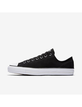 Converse Ctas Pro Perforated Suede Low Top by Nike