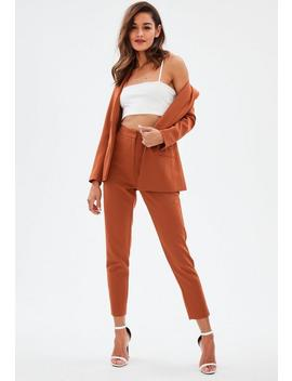 Rust Cigarette Trousers by Missguided