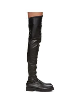 Black Tall Boots by Junya Watanabe