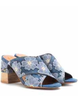 Denim Sandals by See By Chloé