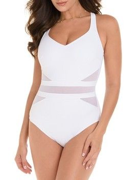 Illusionist It's A Cinch One Piece Swimsuit by Miraclesuit®