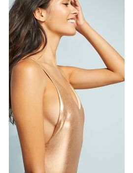 Dolce Vita Metallic One Piece Swimsuit by Dolce Vita