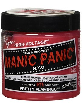 Manic Panic Classic Semi Permanent Hair Dye 118ml (Pretty Flamingo) by Manic Panic
