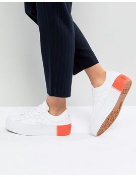 Converse One Star Platform Ox Trainers With Colour Block Heel by Converse