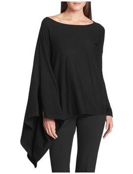 Asymmetrical Sweater by Donna Karan New York