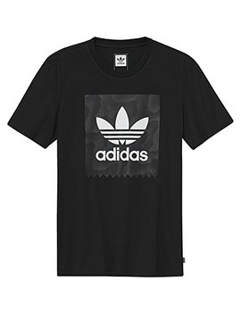 Adidas Originals Men's Skateboarding Blackbird Warp Print Tee by Adidas Originals