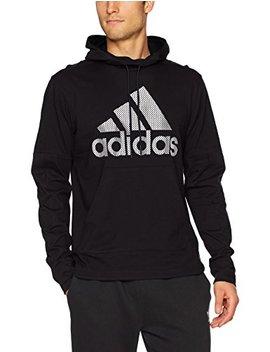 Adidas Men's Athletics Sport Id Jersey Pullover Hoody by Adidas
