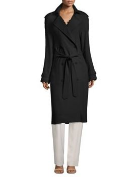 Tiana Double Breasted Coat by Elie Tahari