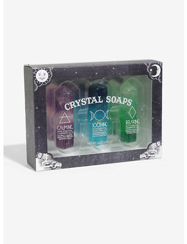 Crystal Soaps Set by Hot Topic