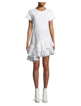 Flamenco Cotton T Shirt Mini Dress by 3.1 Phillip Lim
