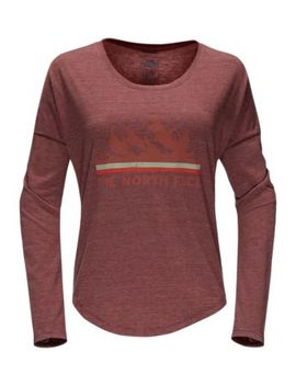 Women's Long Sleeve Mountain View Tri Blend Tee by The North Face