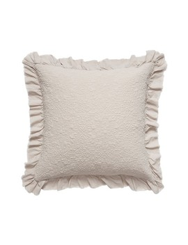 Ruffle Trim Euro Sham by Treasure & Bond