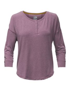 Women's Long Sleeve In A Flash Henley by The North Face
