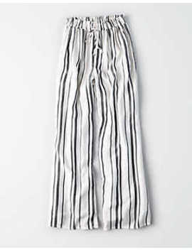 Ae Striped Wide Leg Pant by American Eagle Outfitters