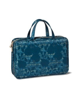 Sonia Kashuk™ Weekender Makeup Bag   Blue Asian Floral by Shop This Collection