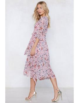 Spring The Fun Wrap Dress by Nasty Gal