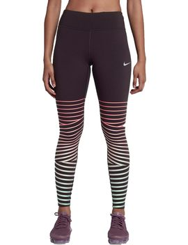 Nike Women's Power Epic Lux Flash Running Tights by Nike