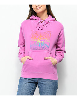 Obey No One Dusty Violet Hoodie by Obey