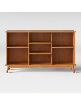 Amherst Mid Century Modern Horizontal Bookcase   Project 62™ by Target