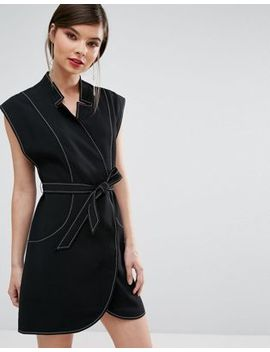 C/Meo Collective Right Now Wrap Mini Dress by C/Meo Collective