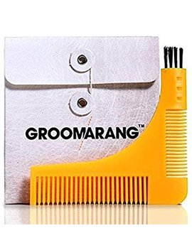 Groomarang Beard Styling And Shaping Template Comb Tool by Groomarang