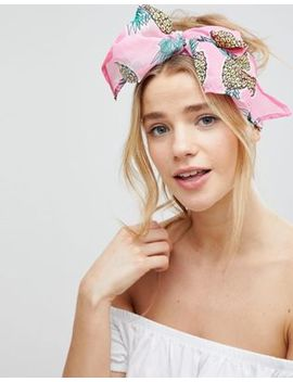 Asos Pineapple Print Headscarf by Asos Collection