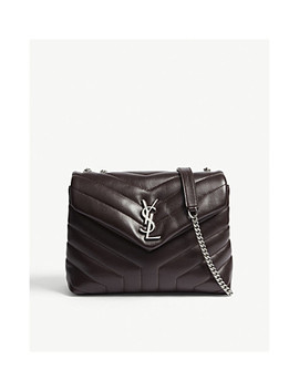 Monogram Lou Lou Small Leather Shoulder Bag by Saint Laurent