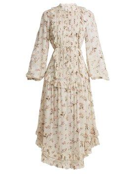 Whitewash Pintuck Dress by Zimmermann