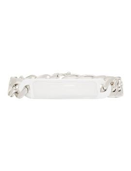 Silver Chain Bracelet by Maison Margiela