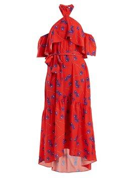 Josephine Off The Shoulder Crepe Dress by Borgo De Nor
