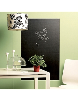 Wallies Peel &Amp; Stick Large Chalkboard Decal by Bed Bath And Beyond