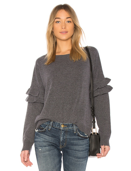 The Ruffle Sweater by Current/Elliott
